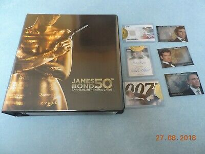 James Bond 50th anniversary serie 2 complete master set