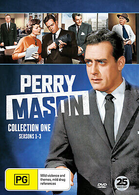 Perry Mason Collection One - Seasons 1-3 Dvd New