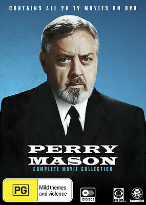 Perry Mason Complete Movie Collection Dvd New