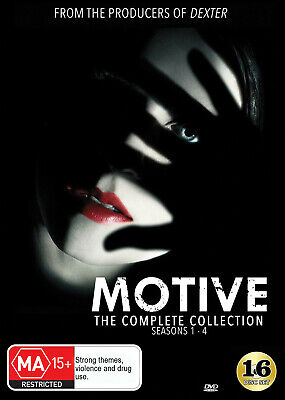 Motive Complete Collection (Seasons 1-4) Dvd New