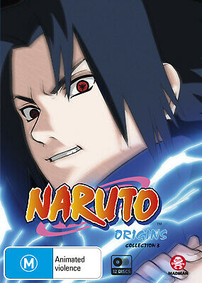Naruto (Uncut) Origins Collection 03 (Eps 107-163) Dvd New