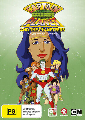 Captain Planet Complete Collection Dvd New