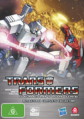 Transformers Generation One Remastered Complete Collection (Fatpack) Dvd New