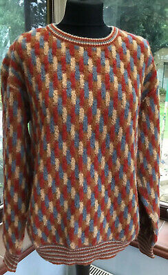 Missoni Made In Italy 70s 1973 Vintage Mohair Wool Jumper Size M NWT