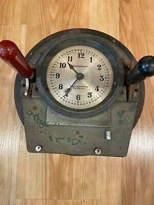 Vintage Calculagraph Telephone Phone Timer 1900s NYC