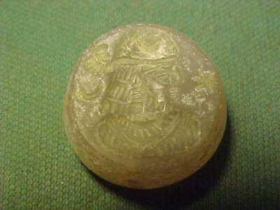 Sasanian seal amulet of agate (Royal bust) circa 224-642 AD.