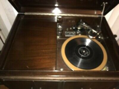 ANTIQUE VICTOR TALKING MACHINE VICTROLA VV-1Xa Wind Up Record Player, Phonograph