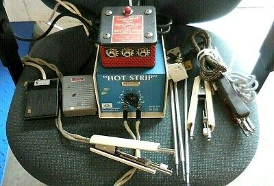 "EPE Model 875 ""Hot Strip"" Resistance Thermal Wire Stripper Unit + Accessories!"