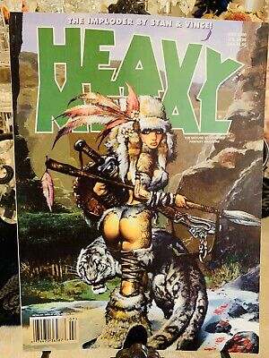 Heavy Metal Magazine ISSUE July 2000 Pre-Owned