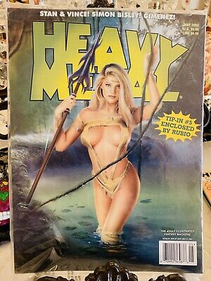Heavy Metal Magazine ISSUE May 2002 Factory Sealed