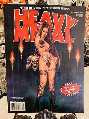 Heavy Metal Magazine ISSUE Sept. 2002 Pre-Owned