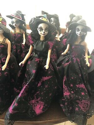 Barbie Style Doll Catrina Sugar Skull Day Of The Dead