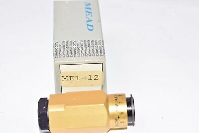 NEW MEAD, Model: MF1-12 Pneumatic Flow Control Valve