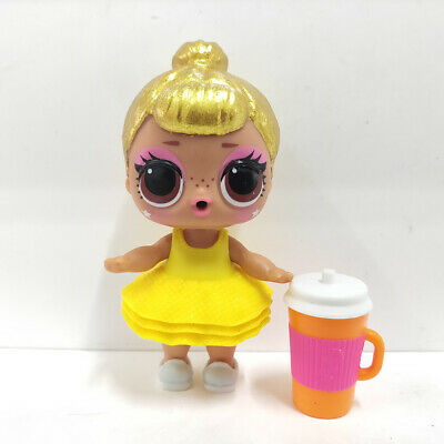 lol surprise doll Big Sister Glitter Gold Hair Yellow Dress Girl Christmas Gift