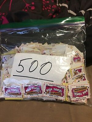 1,000 Box Tops for Education Points Neatly Trimmed + Bagged expire 11/2020