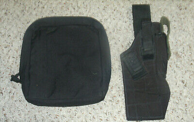 Blackhawk Holster and Pantac Molle Pouch