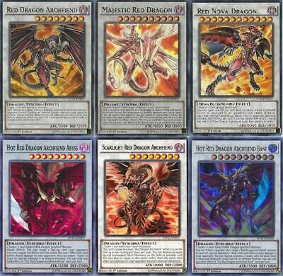 Yugioh Red Dragon Archfiend 2019 Deck - Bane - Hot - Nova -  *Hot* + Bonus Card!