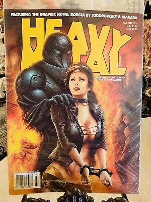 Heavy Metal Magazine ISSUE March 2005 Factory Sealed