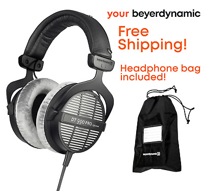 Beyerdynamic DT 990 Pro Open-Back Studio Mixing Headphones 250 Ohm Impedance
