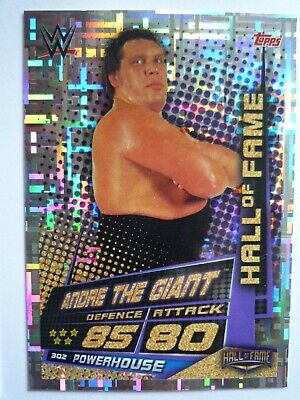 Topps Wwe Slam Attax Universe Hall Of Fame Andre The Giant Card Comb Post