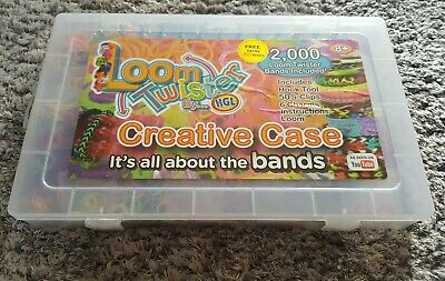 Loom Bands In Carry Case