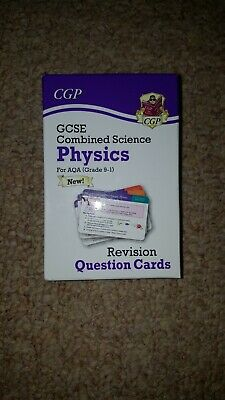 Gcse Combined Science Physics For AQUA Grade (9-1) Revision Cards
