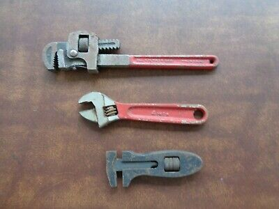 Antique Tools Vintage Adjustable Wrenches