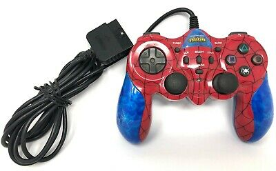 Sony PlayStation 2 PS2 Marvel Spiderman Game Controller Joystick Play Station