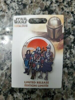 Disney Mandalorian D23 Expo 2019 Exclusive Limited Release Star Wars Pin