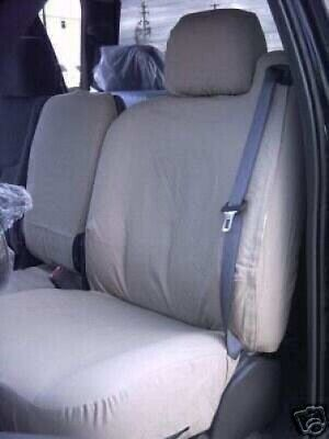 Chevy Silverado 1999-06 Seat Covers Front 40/20/40 Rear Bench Full Set Charcoal