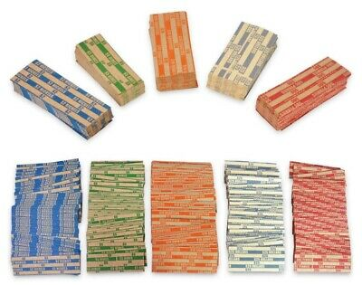 500 Coin Wrappers For Presidential Dollars, Sacagawea Dollar  & Susan B. Anthony