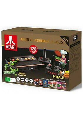Atari Flashback 9 Gold HD Retro Classic Gaming Console - with 120 Built-in Games
