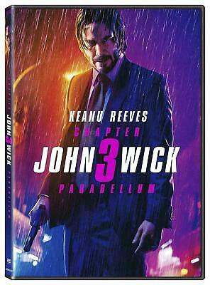 JOHN WICK Chapter 3 PARABELLUM DVD 2019 Brand New & Sealed USA FREE SHIPPING