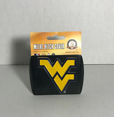 West Virginia Mountaineers Logo Auto Trailer Hitch Cover