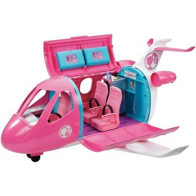 Barbie Travel Dreamplane Set Fashion Girls Princess Star Pink Xmas Christmas