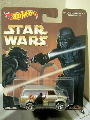 Hot Wheels Pop Culture 2016 Star Wars Ford Trasit Supervan real riders