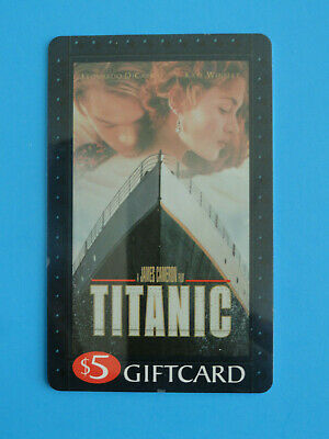 Titanic Blockbuster Video Gift Card - Original 1998 (No Value On Card)