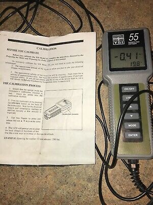 YSI Model 55 Oxygen Calibration Meter