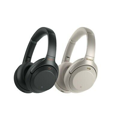 Sony WH-1000XM3 Wireless Noise Cancelling Headphones - Black | Silver