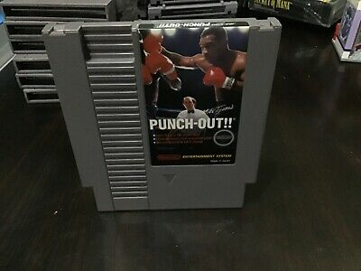 Mike Tyson's Punch Out NES Nintendo