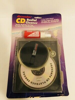 Vintage 1991 Discwasher Radial Cd Cleaning System Nos Never Used