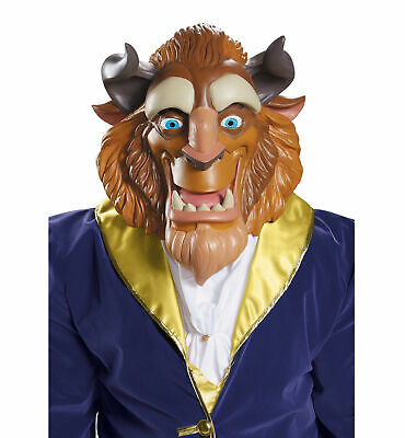 Beast Deluxe Prince Disney Princess Beauty and the Beast Mens Costume Mask