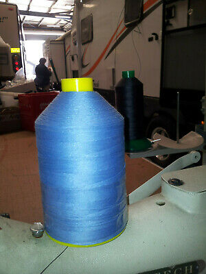 M20 Light Blue Polyester/Cotton core spun for Canvas, upholstery, outdoor fabric
