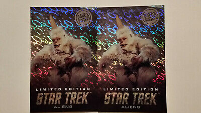 Two Dave and Busters Limited Edition Star Trek Mugato Rare Cards