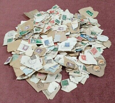 Stamps Large Group Postmarked Mixed Lot Number 3