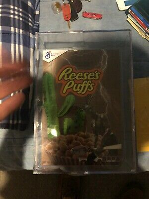 Travis Scott Reeses Puffs Cereal Set Special Edition Box, DS Spoon, DS Bowl