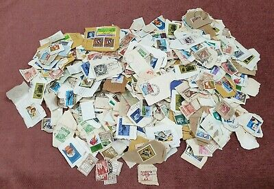 Stamps Large Group Postmarked Mixed Lot Number 2