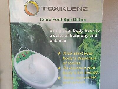 Foot Spa Massager Pedicure Bath Ionic Detox Machine Manicure Home Health Care