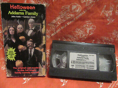 Halloween With The Addams Family Vhs Tape Movie