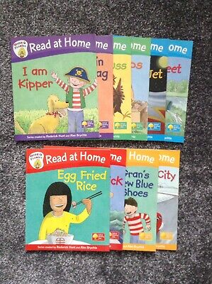 Floppy's Phonics Read With Biff, Chip And Kipper 10 Book Set Oxford Reading Tree